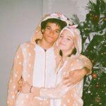 Jayden Bartels with boyfriend Armani Jackson