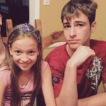 Jayden Bartels with her second brother image