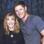Jensen Ackles with mother Donna Joan