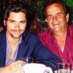 John Stamos with father William Stamos