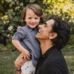 John Stamos with his son Billy Stamos