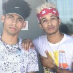 Jordan Fisher with brother Cory Fisher
