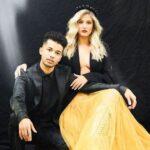 Jordan Fisher with girlfriend Ellie Woods image