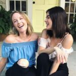 Lucy Hale with sister Maggie Clarke image