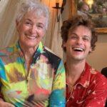 Matthew Gray Gubler with mother Marilyn Gubler