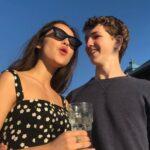 Olivia Rodrigo with ex-boyfriend Ethan Wacker