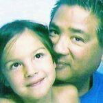 Olivia Rodrigo with her father