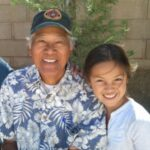 Olivia Rodrigo with her grandfather