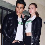 Ray Diaz and Angelica Salek dated