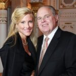 Rush Limbaugh with wife Kathryn Rogers image