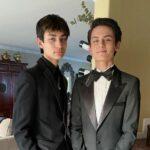 Tenzing Trainor with brother Kalden Trainor image