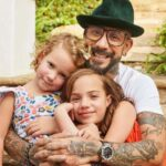 AJ McLean with his daughters