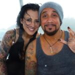 AJ McLean with his wife Rochelle DeAnna