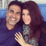 Akshay Kumar with his wife Twinkle Khanna