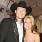 Blake Shelton with ex-wife Kaynette Williams image