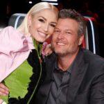 Blake Shelton with partner Gwen Stefani