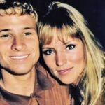 Brian Littrell with wife Leighanne Wallace old image
