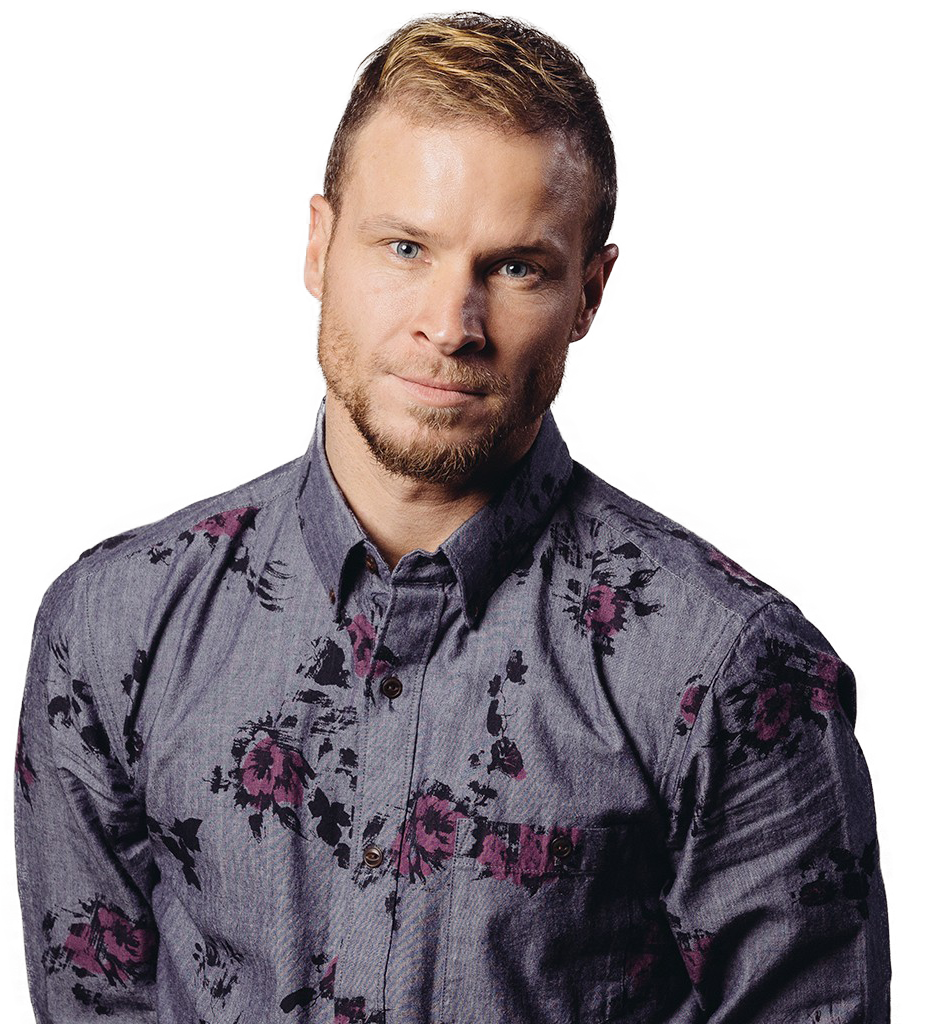 Brian Littrell transparent background png image