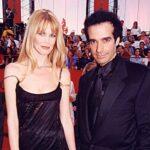 David Copperfield with ex-girlfriend Claudia Schiffer