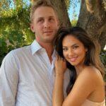 Jared Goff with girlfriend Christen Harper