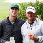 Jared Goff with his father Jerry Goff