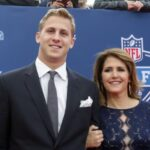 Jared Goff with mother Nancy Goff