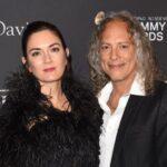 Kirk Hammett with wife Lani Hammett