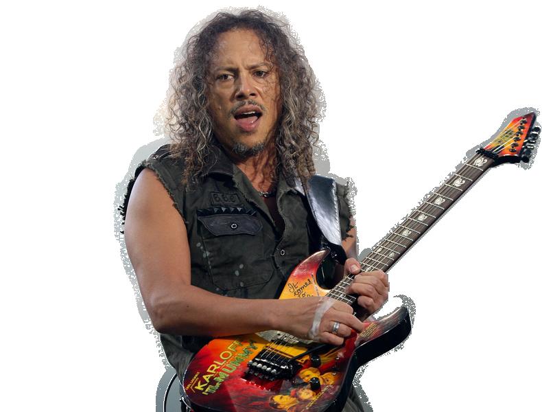 Kirk Hammett transparent background png image