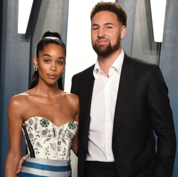 Klay Thompson and Laura Harrier Date Night Photos From
