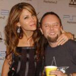 Lars Ulrich with ex-wife Skylar Satenstein image