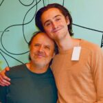 Lars Ulrich with son Layne Ulrich