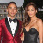 Lewis Hamilton with ex-girlfriend Nicole Scherzinger