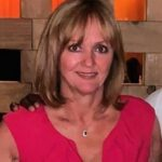 Lewis Hamilton's mother Carmen Larbalestier