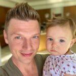 Nick Carter with his daughter Saoirse Reign Carter