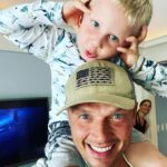 Nick Carter with son Odin Reign Carter