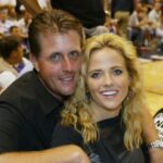 Phil Mickelson with wife Amy Mickelson