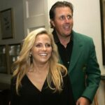 Phil Mickelson with wife Amy Mickelson image