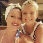 Pink with her daughter Willow Sage Hart