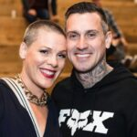 Pink with her husband Carey Hart image