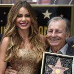 Sofia Vergara with father Julio Enrique Vergara Robayo