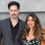 Sofia Vergara with husband Joe Manganiello