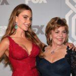 Sofia Vergara with mother Margarita Vergara