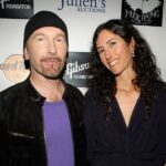 The Edge with wife Morleigh Steinberg image