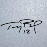 Tom Brady signatue