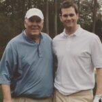 Tom Brady with his father Thomas Brady Sr