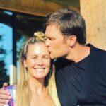 Tom Brady with his sister Julie Brady