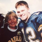 Tom Brady with mother Galynn Patricia