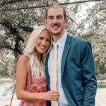 Alex Caruso with girlfriend Abby Brewer