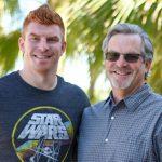 Andy Dalton with father Greg Dalton