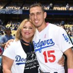 Austin Barnes with mother Stephanie Barnes